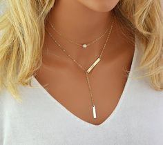 Dainty Pearl Necklace, Single Pearl, Freshwater Pearl Necklace, Dainty Gold Chain, 14k Gold Filled, Rose Gold Filled, Sterling Silver  * White Freshwater Pearl 8mm * Gold F... #bar #personalized #engraved #name #disc #initial #monogram ➡️ http://etsy.me/2xMRy0h