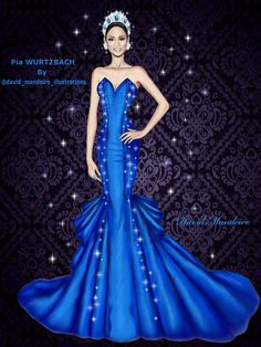 Pia Wurtzbach Official Miss Univers 2015 by David Mandeiro.