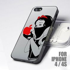Disney Apple Snow White Revenge design for iPhone 4 or 4s case