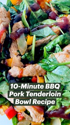 Diner Recipes, Pork Recipes, Gluten Free Recipes, Healthy Eating Recipes, Low Calorie Recipes, Healthy Cooking, Bbq Pork Tenderloin, Pork Dishes, Quick Meals
