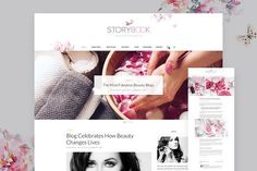 Storybook - Modern Blog & Shop Theme by TheGravity Themes on @creativemarket