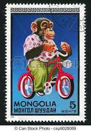 timbre vélo Mongolie