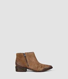 Women's Yuree Mid Boot (Cognac) -