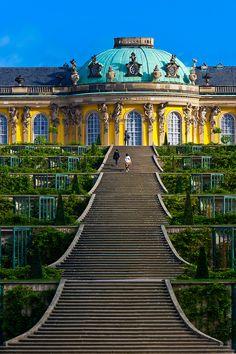 Sanssouci Palace, Sanssouci Park, Potsdam, Germany