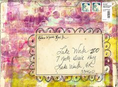 """""""Every Life Has a Story!"""" - {Roben-Marie Smith} - File Folder MailArt..."""