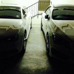 His & Hers cars l Audi A5 Sportback l Mercedes-Benz CLA 45 AMG l White