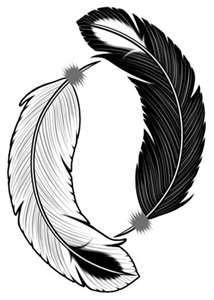 yin yang FEATHER - - Yahoo Image Search Results