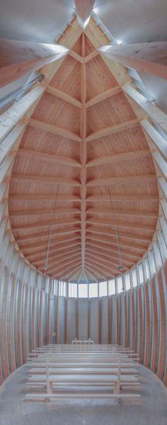 Saint Benedict's Chapel, Graubünden http://www.switchtosilence.com/blog/ barefootstyling.com