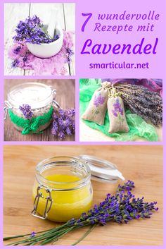 Lavender is one of the most versatile garden herbs. Use it for example for great desserts, natural cosmetics or as a fragrant remedy for mosquitoes. The Effective Pictures We Offer You About diy body Tolle Desserts, Lavender Recipes, Great Desserts, Natural Make Up, Natural Cosmetics, Wellness Tips, Diy Beauty, Preserves, Body Care
