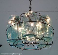 Funky Junk Interiors: Sat Nite Special #123 link party - featuring mason jars!