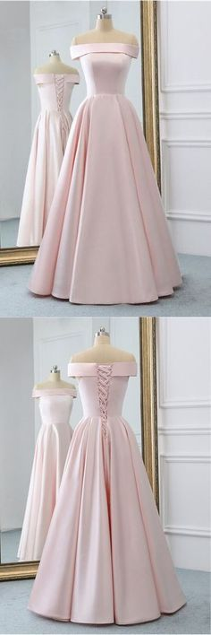 Pink Satin Long Evening Dress With Pockets, Pink Prom Gowns, Shop plus-sized prom dresses for curvy figures and plus-size party dresses. Ball gowns for prom in plus sizes and short plus-sized prom dresses for Pink Party Dresses, Cute Prom Dresses, Mermaid Prom Dresses, Pretty Dresses, Homecoming Dresses, Beautiful Dresses, Formal Dresses, Prom Gowns, Dress Prom