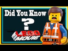 Did You Know? - THE LEGO MOVIE - YouTube