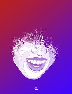 Color Me  by Kern Saunders, via Behance