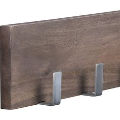Leigh Wall Mounted Coat Rack | Crate and Barrel