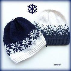 "Ravelry: Vinterstormlua/Winterstorm hat pattern by MaBe ""Knitting Patterns Hat Norwegian and English pattern. Crochet Beanie, Knit Or Crochet, Knitted Hats, Crochet Hats, Crochet Granny, Fair Isle Knitting Patterns, Crochet Patterns, Hat Patterns, Stitch Patterns"