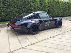 Check out the stance on this 911!