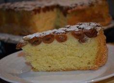 Owoce zalewane biszkoptowym ciastem Vanilla Cake, Cheesecake, Pie, Cooking, Cakes, Torte, Cuisine, Pastel, Kitchen