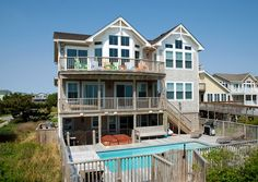 Twiddy Outer Banks Vacation Home - Ohana Cabana - Duck - Oceanfront - 5 Bedrooms