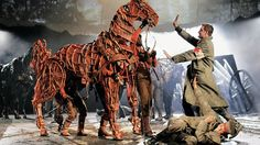War Horse.  I wanted to see this in Toronto, but it was pretty packed and the tickets were uber pricey