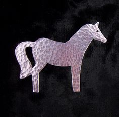A little girls best friend. This pony comes as a brooch or pendant with 50cm chain.