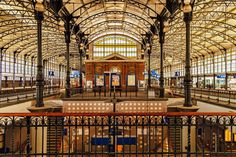 Hollands Spoor - Railway station The Hague - The Netherlands