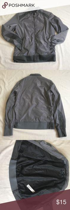 Zara Man Jacket Zara Man denim couture jacket. Made out of a windbreaker material. Zara Jackets & Coats Lightweight & Shirt Jackets