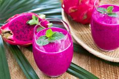Dragonfruit Smoothie by Chef Charles Chen