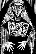 Lívio Abramo .. Gravura arte em papel