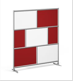 Urban Wall Room Divider from Rollin' Products
