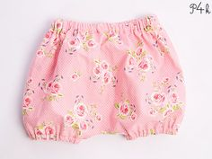Schnittmuster Baby Pumphose Shorts Haremshose Babyhose