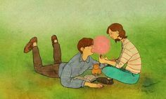 """♥ Cotton candy ♥ """"THIS IS WHAT LOVE LOOKS LIKE…"""" by Puuung ♥"""