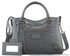 Balenciaga Classic Town Bag, Anthracite on shopstyle.com