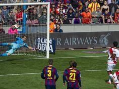 Liga BBVA FC Barcelona Rayo Vallecano Foto Pere Punti bravo