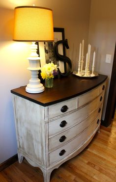 I LOVE this dresser!! She did an amazing job!! My Passion For Decor: The Big Back Breaker Project!