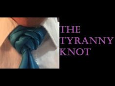 Another knot of my own design that literally woke me up in the middle of the night! Named for my Little Sister, in Christ, who has supported me in the past. Necktie Knots, Tie A Necktie, Mens Hottest Fashion, Mens Fashion, Neck Ties, Net, Dress Code, Men's Style, Christ