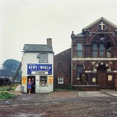 Peter Mitchell worked as a truck driver in Leeds in the 1970s, photographing the…