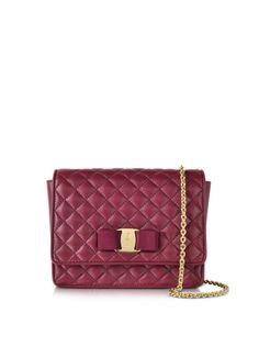 Salvatore Ferragamo Quilted Leather Shoulder Bag
