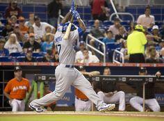 Los Angeles Dodgers vs. Miami Marlins - Photos - June 28, 2015 - ESPN
