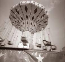 Amusement park photos taken with a pinhole camera by Nancy Breslin Pinhole Camera Photos, Park Photos, Newark Delaware, Ceiling Lights, Photographs, Prints, Amusement Parks, Parking Lot, Photos
