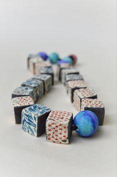 Mono print and underglaze transfers on black clay Mono Print, Ceramic Necklace, Black Clay, Ceramic Pottery, Cufflinks, Ceramics, Jewellery, Accessories, Beautiful