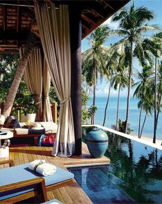 Ok. So I'm now loving the idea of a Thailand honeymoon. Wow. This place is incredible!!!