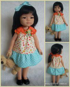 Выкройка платья для куклы Paola Reina / Мастер-классы,