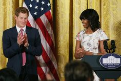 Michelle Obama joins Prince Harry for tea at Kensington Palace - Photo 1