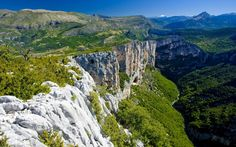 France's Verdon Gorges is earth's second biggest canyon.