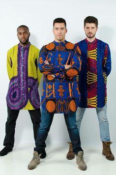 Dapper... #African #Kente #men