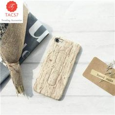 New Wood Grain Wheat Cell Phone Cases For iPhone 6 6s 6plus 6s plus 7 7plus