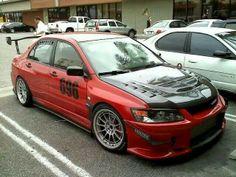 Mitsubishi evo $)