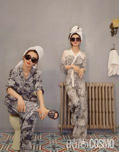 Zhao Liying and Li Bingbing cover fashion magazine | China Entertainment News Li Bingbing, Zhao Li Ying, Chinese Actress, Actors & Actresses, Hipster, Magazine, Vintage, Style, Entertainment