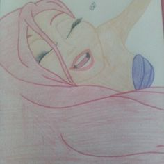 Ariel drawing ~ BriLynn