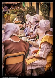 Women embroiderers by Giancarlo Gallo